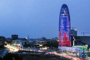 Torre Agbar edificio sostenible en el blog de Mapei