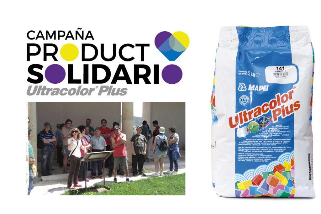 Ultracolor Plus, Producto Solidario de Mapei durante el mes de octubre