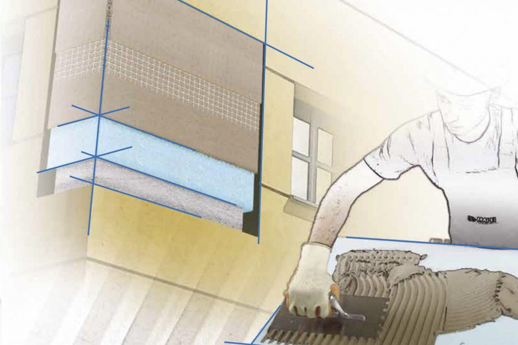 Mapetherm System: la tecnología de los adhesivos Mapei en el proyecto del ahorro energético